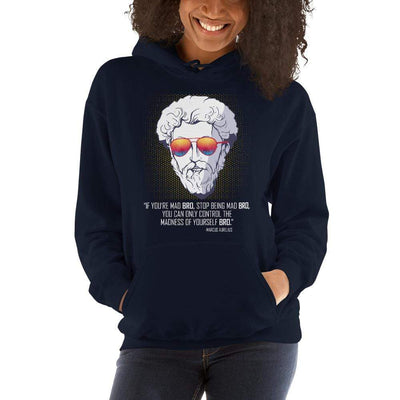 The Philosopher's Shirt Marcus Aurelius the Bro <br><br>Hoodie