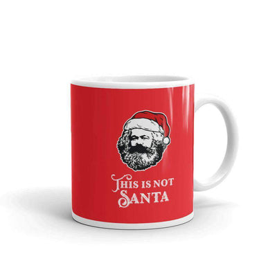 The Philosopher's Shirt Mug Marx - This Is Not Santa