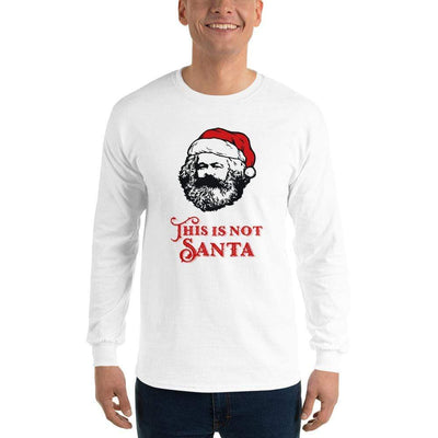 The Philosopher's Shirt Long-Sleeve Tee Marx - This Is Not Santa <br><br>Long-Sleeved Shirt