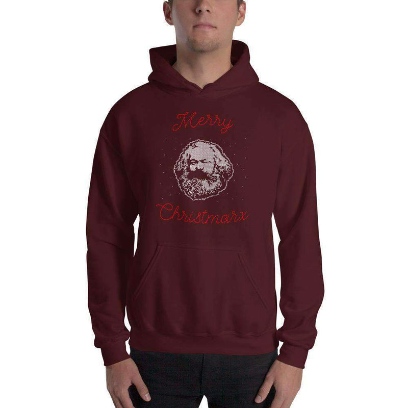 The Philosopher's Shirt Hoodie Merry Christmarx - Ugly Christmas Sweater Design