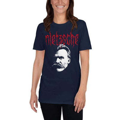 The Philosopher's Shirt Unisex Premium T-Shirt Metal Philosophers - Nietzsche <br><br>Unisex Premium T-Shirt
