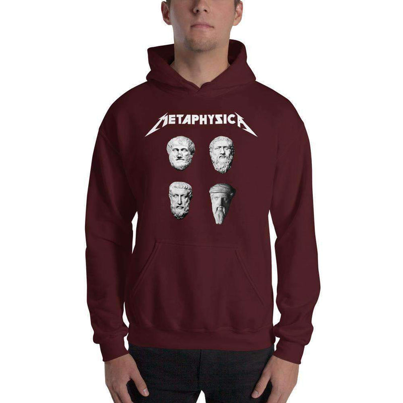 The Philosopher's Shirt Hoodie Metaphysica - The Four Wise Men