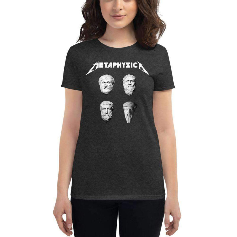 The Philosopher's Shirt Women's T-Shirt Metaphysica - The Four Wise Men