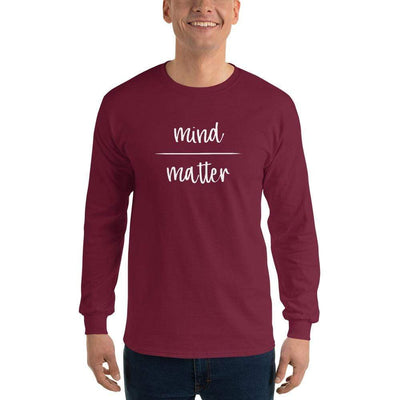 The Philosopher's Shirt Long-Sleeve Tee Mind Over Matter <br><br>Long-Sleeved Shirt