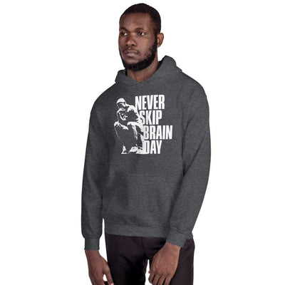 The Philosopher's Shirt Hoodie Never skip brain day <br><br>Hoodie