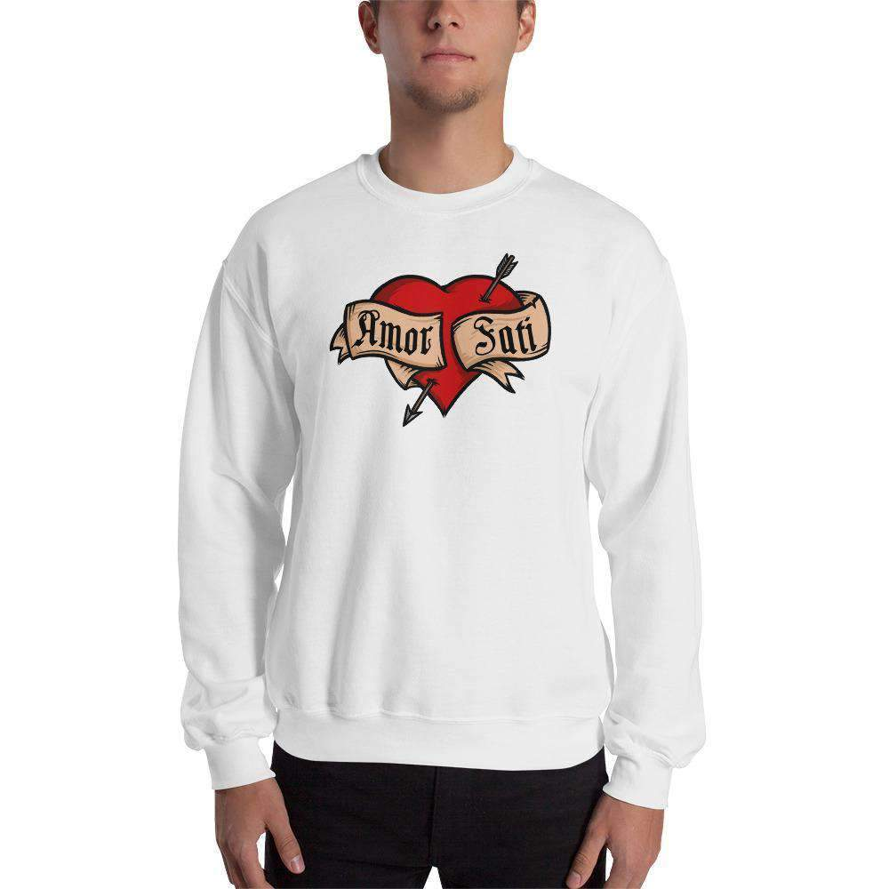 The Philosopher's Shirt Sweatshirt Nietzsche Fatalism Amor Fati Tattoo Heart