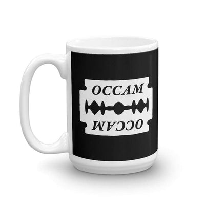 The Philosopher's Shirt Mug OCCAM's Razor <br><br>Mug