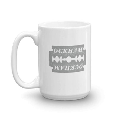 The Philosopher's Shirt Mug Ockham's Razor