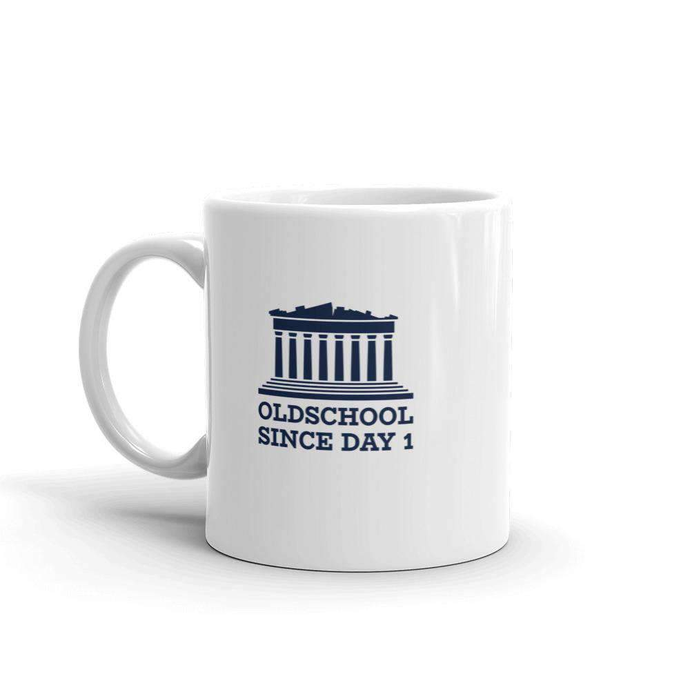 The Philosopher's Shirt Mug Oldschool Since Day 1