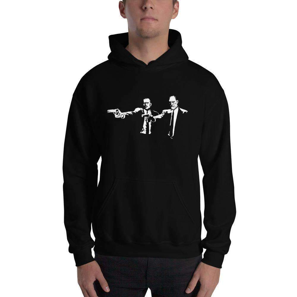 The Philosopher's Shirt Hoodie Philo Fiction - Jung & Freud