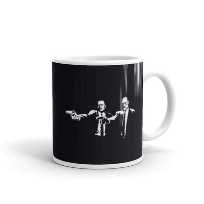 The Philosopher's Shirt Mug Philo Fiction - Jung & Freud