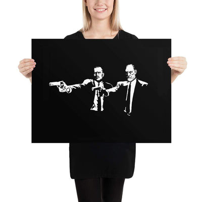 The Philosopher's Shirt Poster Philo Fiction - Jung & Freud <br><br>Poster