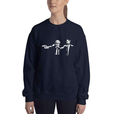The Philosopher's Shirt Sweatshirt Philo Fiction - Marx & Engels