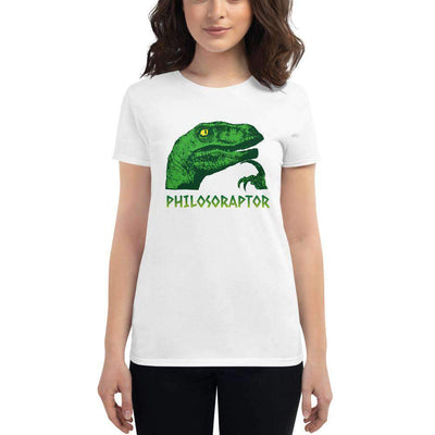 The Philosopher's Shirt Women's T-Shirt Philosoraptor