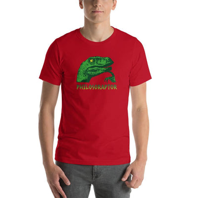 The Philosopher's Shirt Unisex Premium T-Shirt Philosoraptor