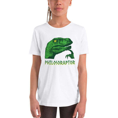 The Philosopher's Shirt Kids Shirt Philosoraptor