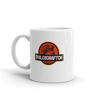 The Philosopher's Shirt Mug Philosoraptor Crossover