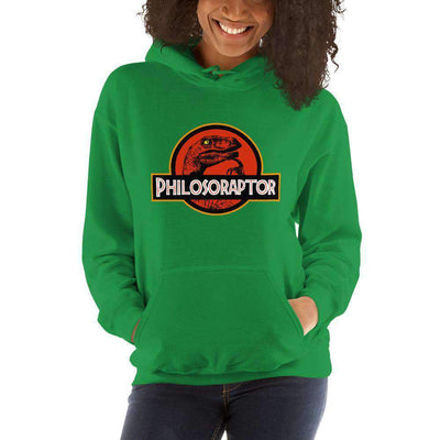 The Philosopher's Shirt Hoodie Philosoraptor Crossover
