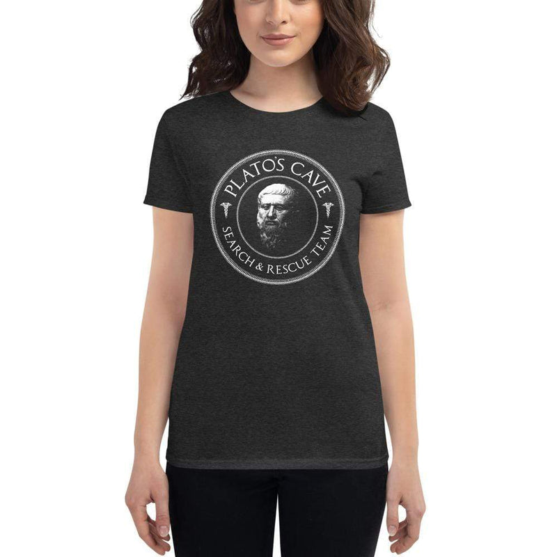 The Philosopher's Shirt Women's T-Shirt Plato's Cave Search and Rescue Team <br><br>Women's T-Shirt