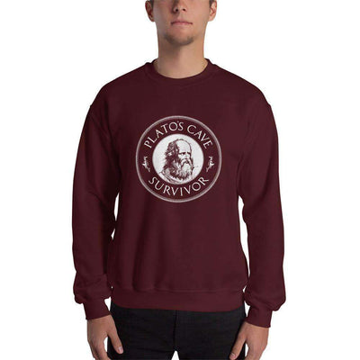 The Philosopher's Shirt Sweatshirt Plato's Cave Survivor
