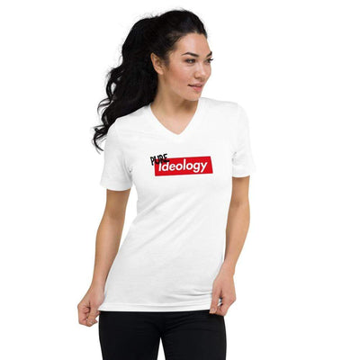 The Philosopher's Shirt Unisex V-Neck Shirt Pure Ideology <br><br>Unisex V-Neck T-Shirt