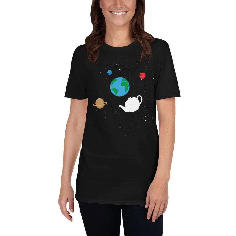 The Philosopher's Shirt Unisex Premium T-Shirt Russell's Teapot Floating in Space <br><br>Unisex Premium T-Shirt
