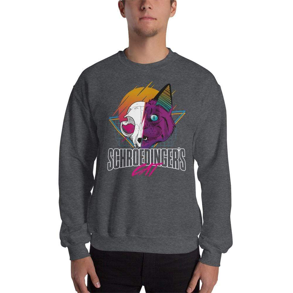 The Philosopher's Shirt Sweatshirt Schroedinger's Cat Retro <br><br>Sweatshirt