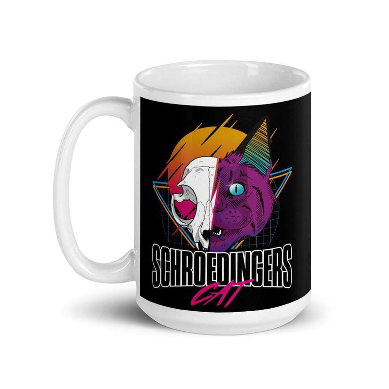 The Philosopher's Shirt Schroedingers Cat Retro <br><br>Mug