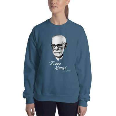 The Philosopher's Shirt Sweatshirt Sigmund Freud - Deine Mutter (DE)