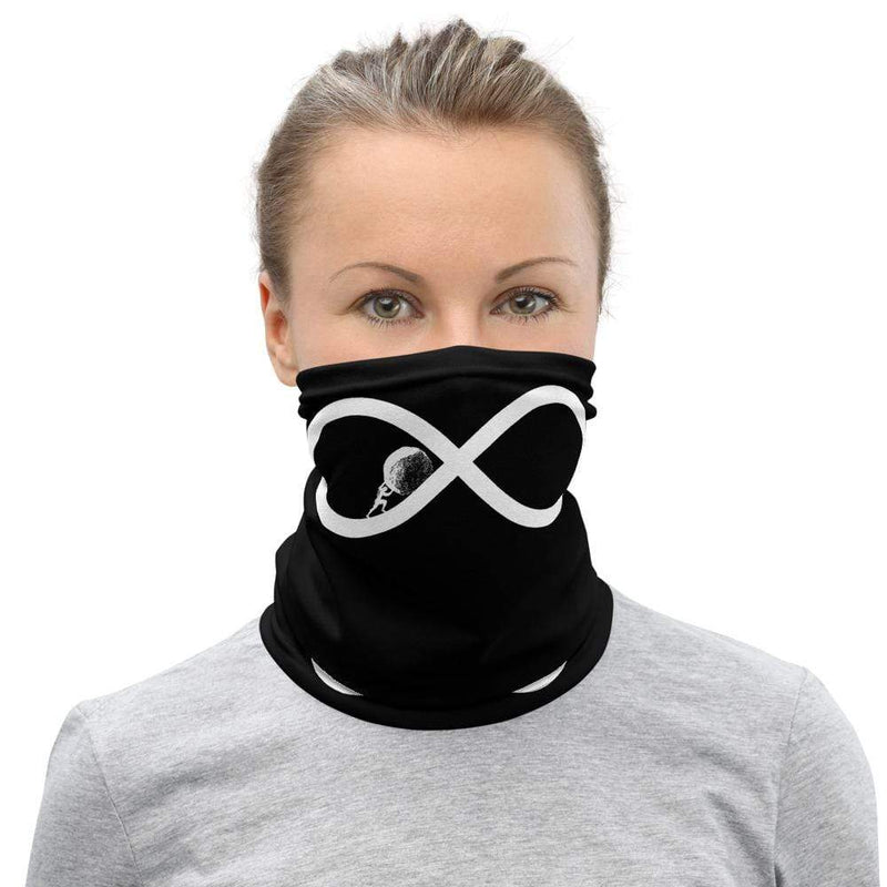 The Philosopher's Shirt Sisyphos to Infinity <br><br>Neck Gaiter