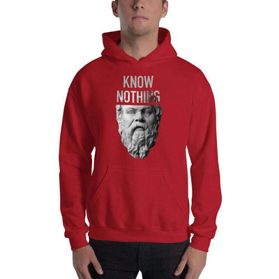 The Philosopher's Shirt Hoodie Socrates - Know Nothing