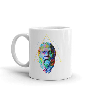 The Philosopher's Shirt Mug Socrates - Vivid Colours For Trippy Heads