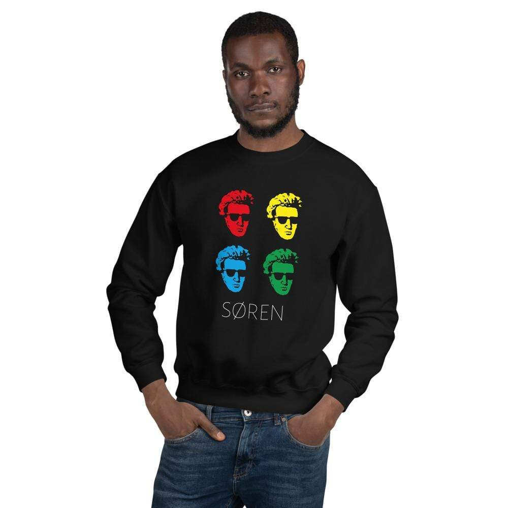 The Philosopher's Shirt Sweatshirt Soeren Kierkegaard Pop Art <br><br>Sweatshirt