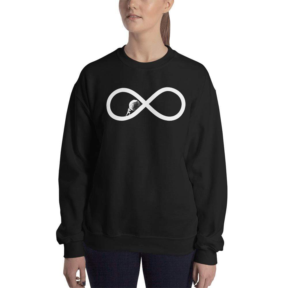 The Philosopher's Shirt Sysiphos to Infinity <br><br>Sweatshirt