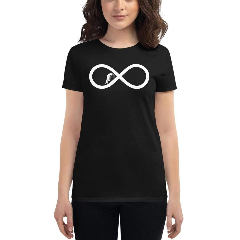 The Philosopher's Shirt Sysiphos to Infinity <br><br>Women's T-Shirt