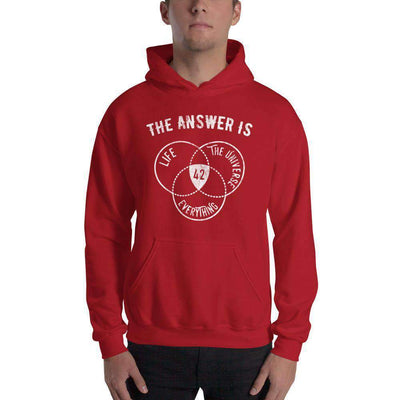 The Philosopher's Shirt Hoodie The Answer Is Always 42