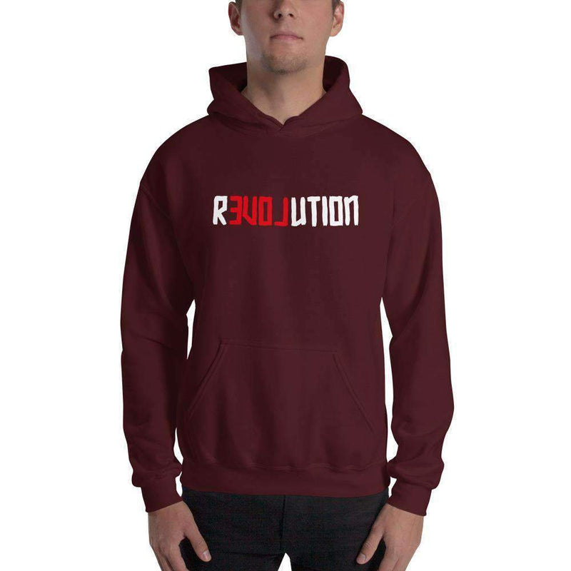 The Philosopher's Shirt Hoodie There Is Love in Revolution