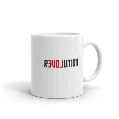 The Philosopher's Shirt Mug There Is Love in Revolution