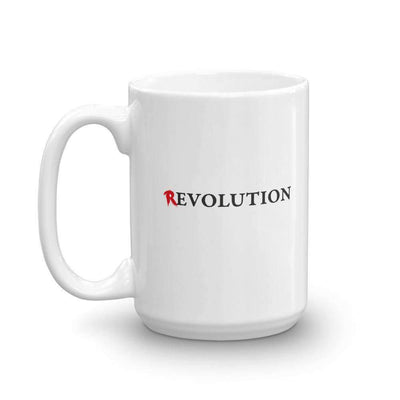 The Philosopher's Shirt Mug There's Evolution in Revolution