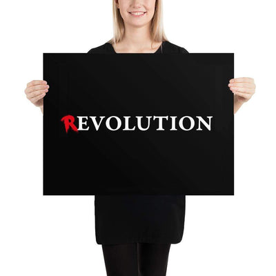 The Philosopher's Shirt There's Evolution in Revolution <br><br>Poster