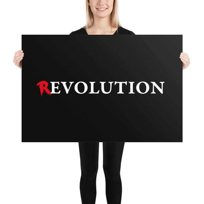 The Philosopher's Shirt Poster There's Evolution in Revolution <br><br>Poster