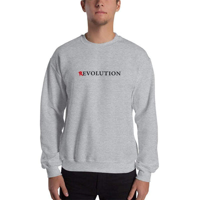 The Philosopher's Shirt Sweatshirt There's Evolution in Revolution <br><br>Sweatshirt