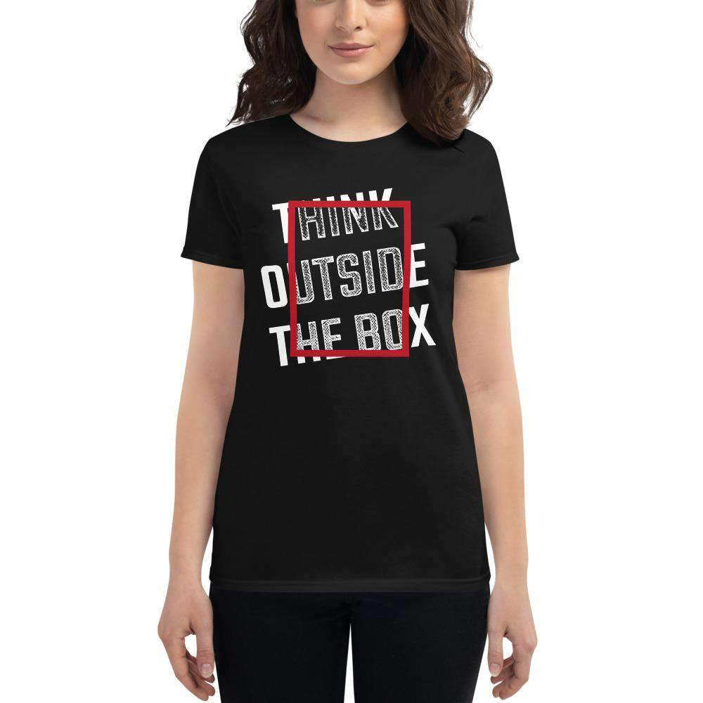 The Philosopher's Shirt Women's T-Shirt Think Outside The Box
