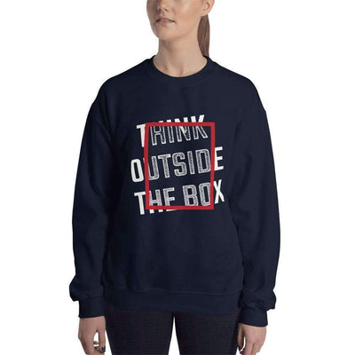 The Philosopher's Shirt Sweatshirt Think Outside The Box