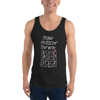 The Philosopher's Shirt Think Outside The Box <br><br>Unisex Tank Top