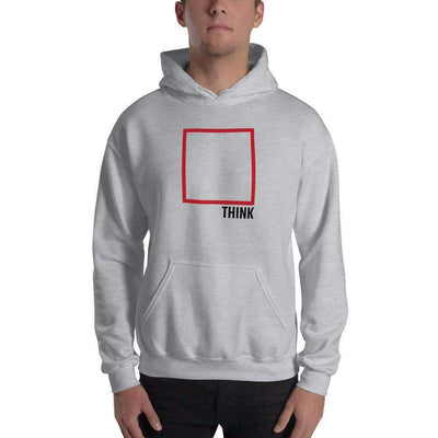 The Philosopher's Shirt Hoodie Think Outside The Box - Minimal Edition