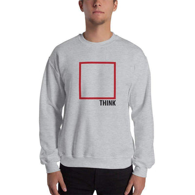 The Philosopher's Shirt Sweatshirt Think Outside The Box - Minimal Edition
