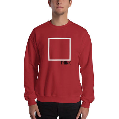 The Philosopher's Shirt Sweatshirt Think Outside The Box - Minimal Edition <br><br>Sweatshirt