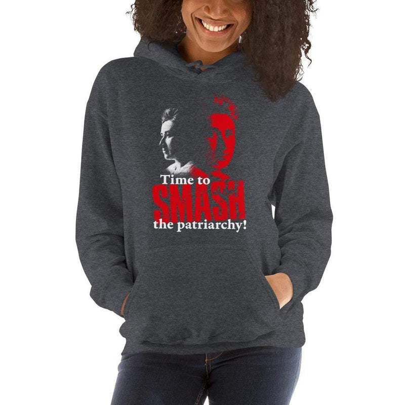 The Philosopher's Shirt Hoodie Time to SMASH the patriarchy! by Rosa Luxemburg <br><br>Hoodie