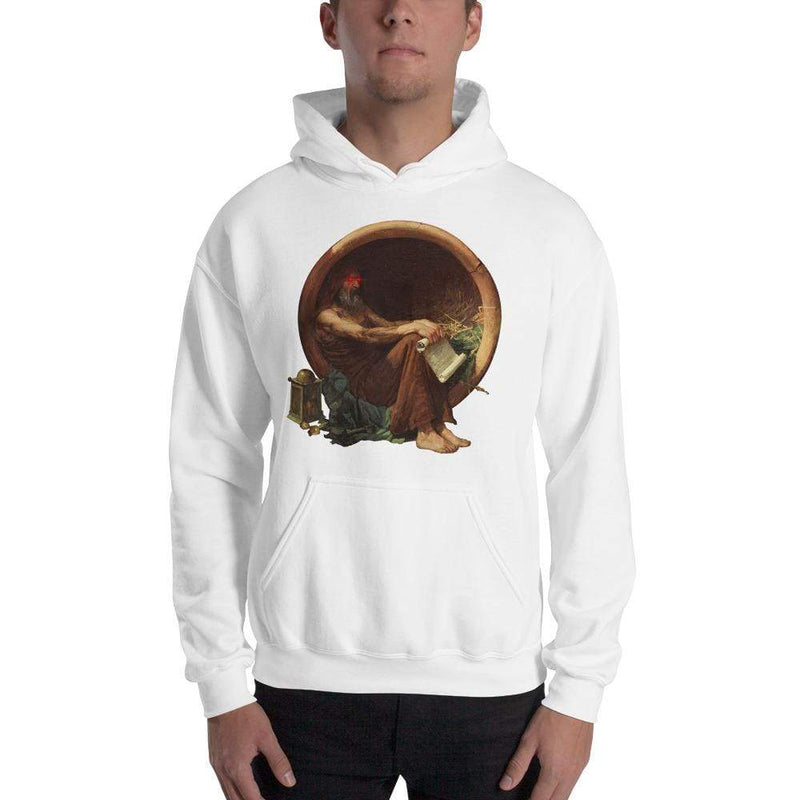 The Philosopher's Shirt Hoodie Triggered Diogenes <br><br>Hoodie